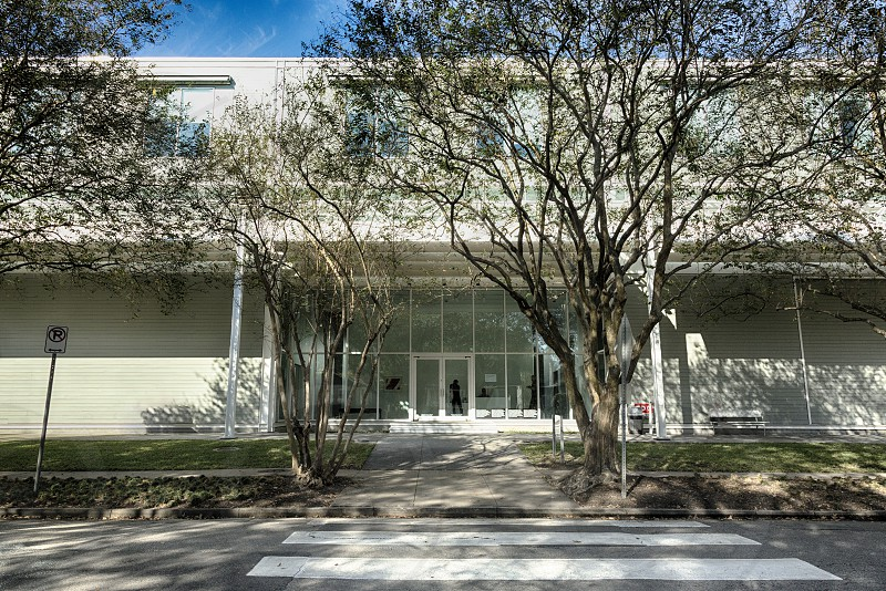 Menil Collection - a free museum in Houston Texas.  photo