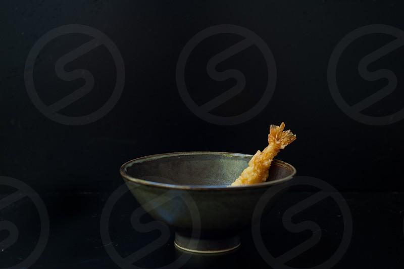 japanese food tempura shrimp photo