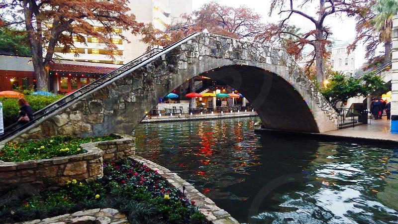 Riverwalk in San Antonio TX photo