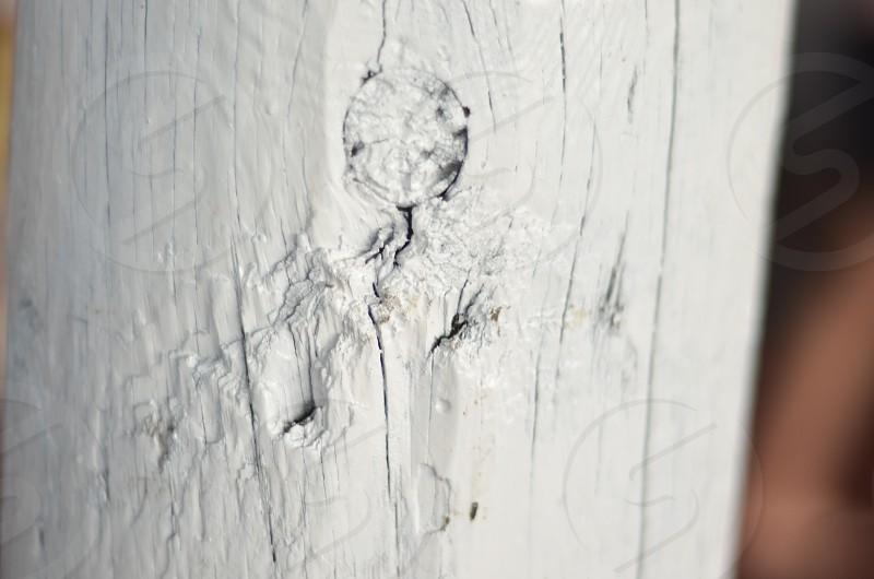 Old white wood pattern photo