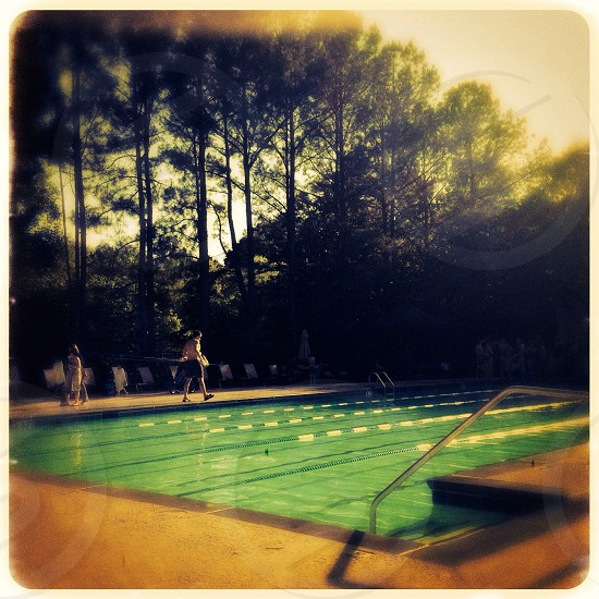 Neighborhood Pool Atlanta Georgia USA  photo