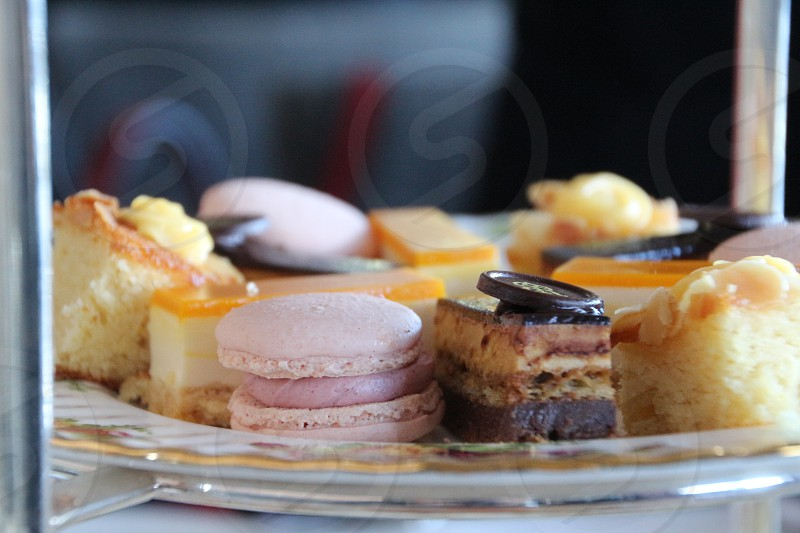 Delicious sweets high tea photo