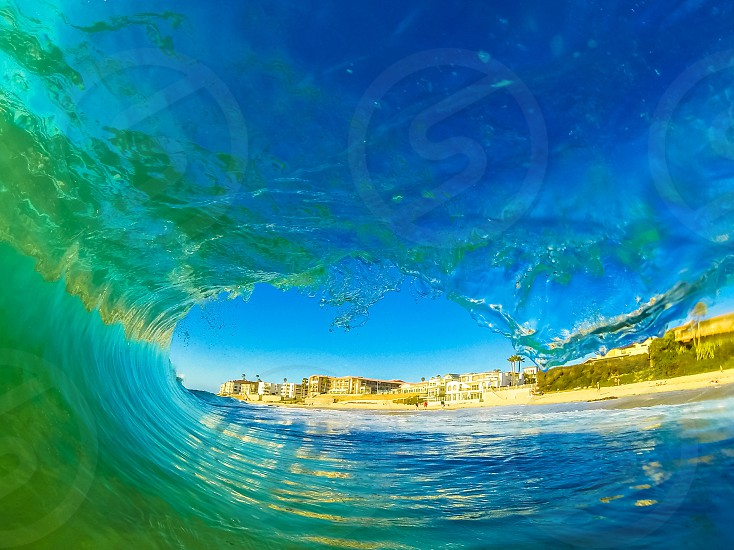 One perfect wave.  photo