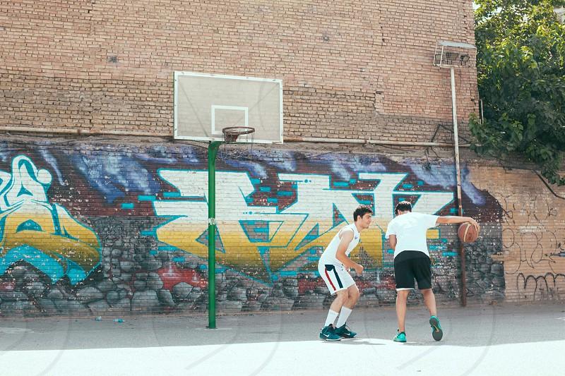 basketball street court photo
