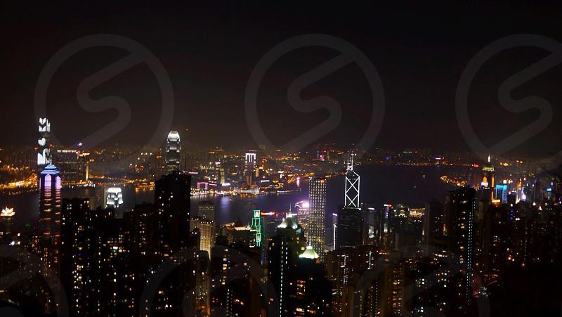 night city view photography photo