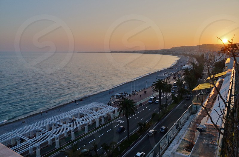 Promenade des Anglais - Nice France photo