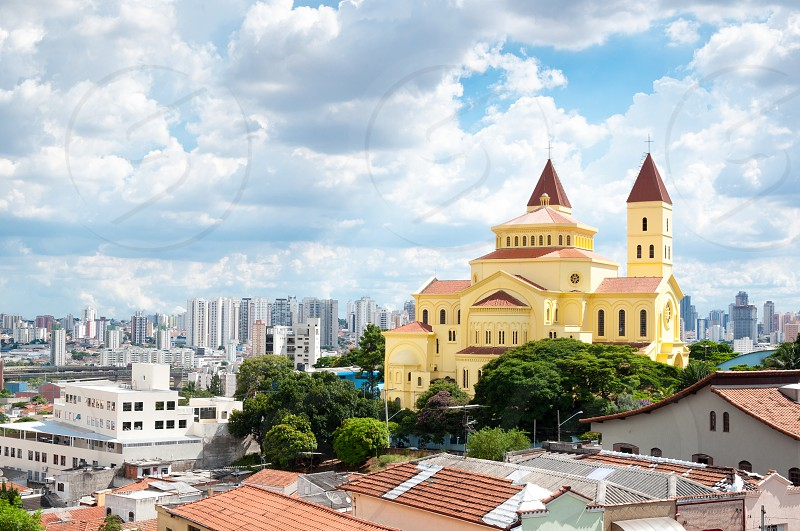 Church on the Penha neighborhood Sao Paulo photo