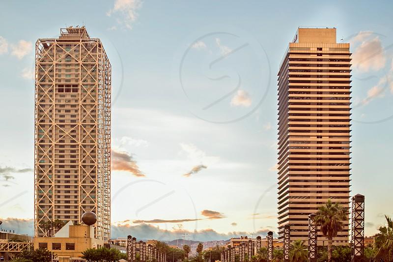 Barcelona Skyline photo