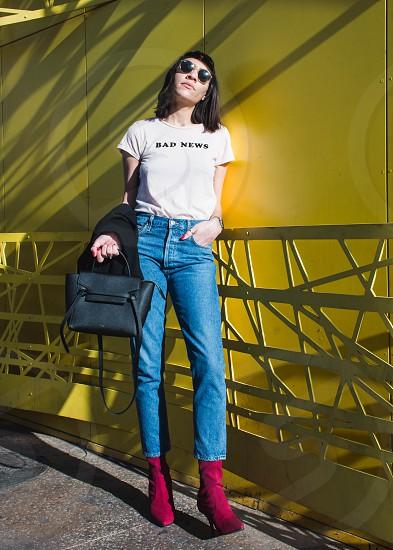 Editorial fashion shots from Downtown Las Vegas Nevada. photo