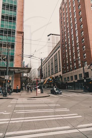The corner of cherry street photo