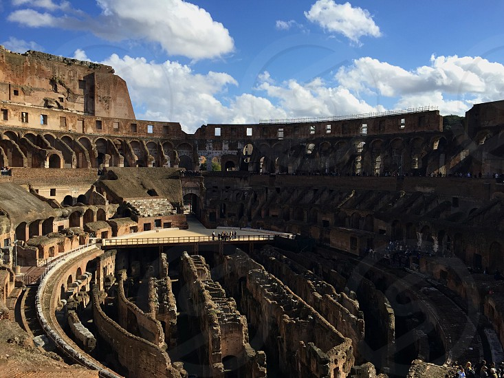 Colosseum in Rome Italy. photo