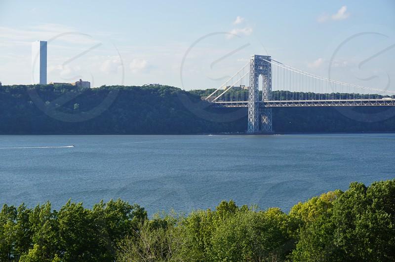 George Washington Bridge in New York City photo