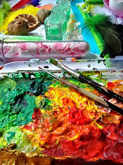 colorful creativity tools photo