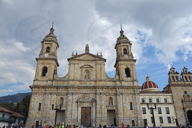 Primatial Cathedral of Bogota Colombia photo