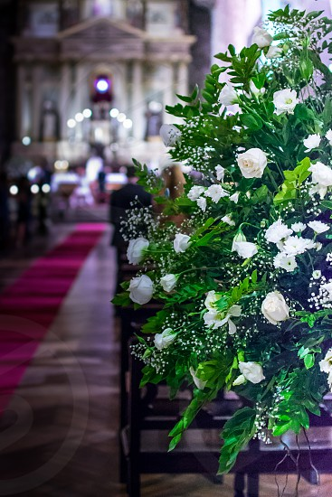 Church Flowers 2 photo