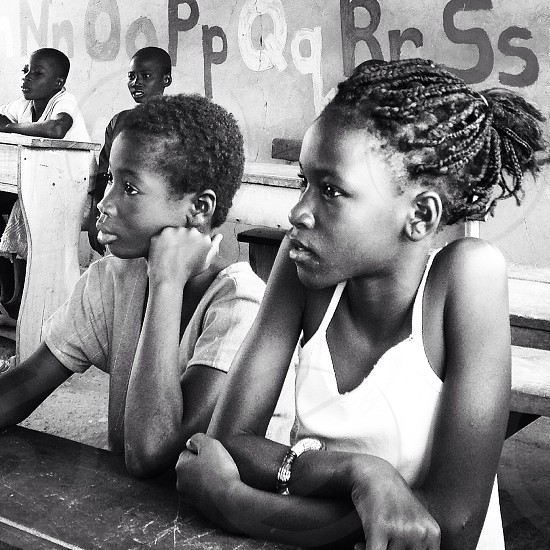 Ghana school.  photo