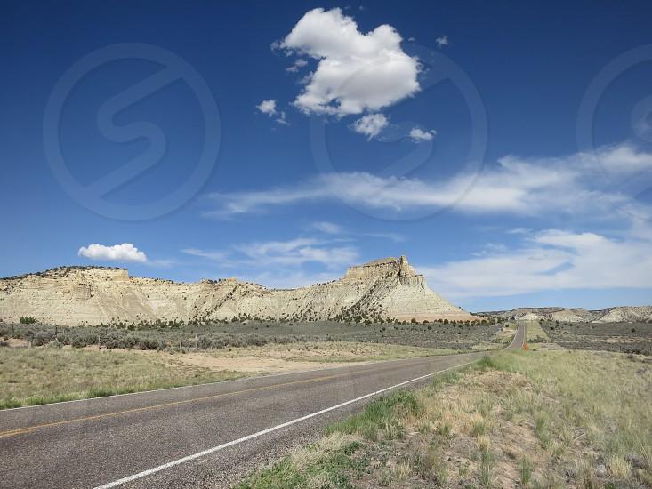 Open road in Utah. photo