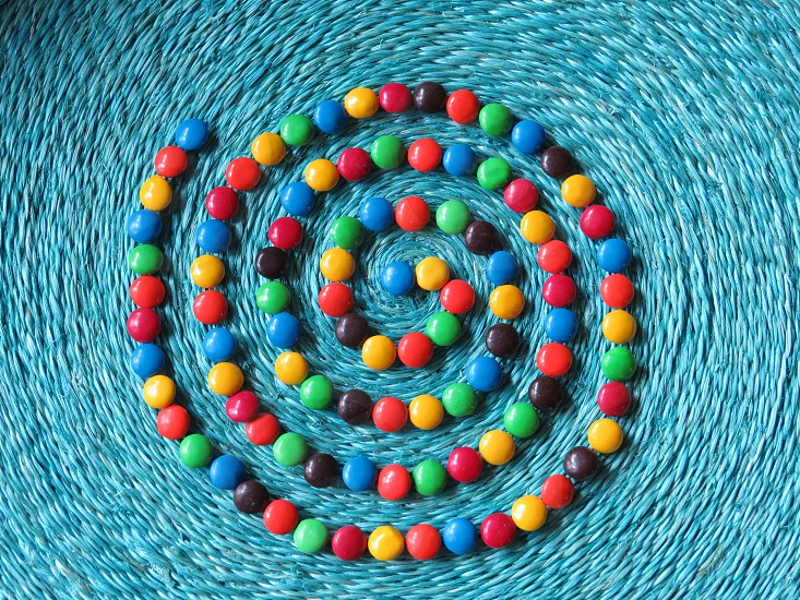 Many colored candy. photo