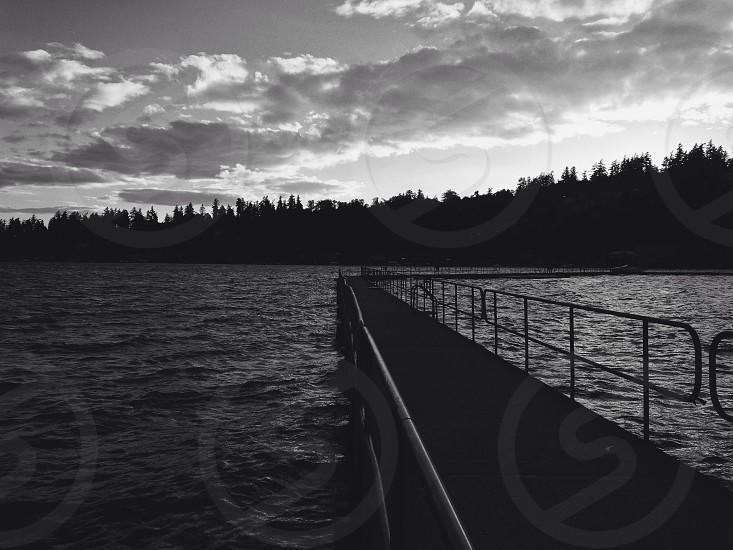 Dock Water. photo