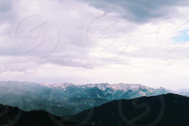 Atop Buck Rock lookout in Sequoia National Park photo