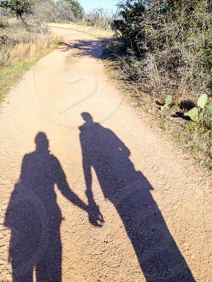 Happy Hikers Shadow photo