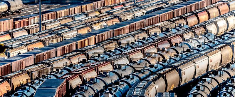 Train cars photo