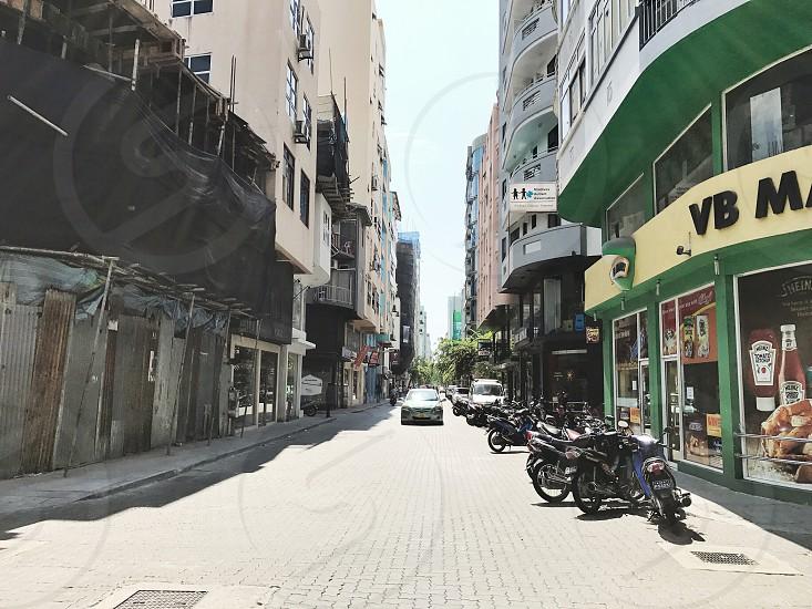 Road street urban photo