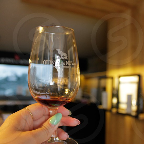 Port Porto wine glass  photo