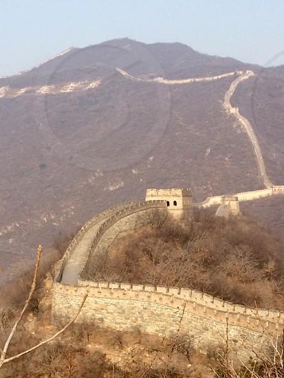 Travel Great Wall China Beauty Grandeur. photo