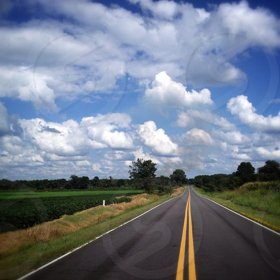 Found an open road and tossed my cares in the wind..  photo
