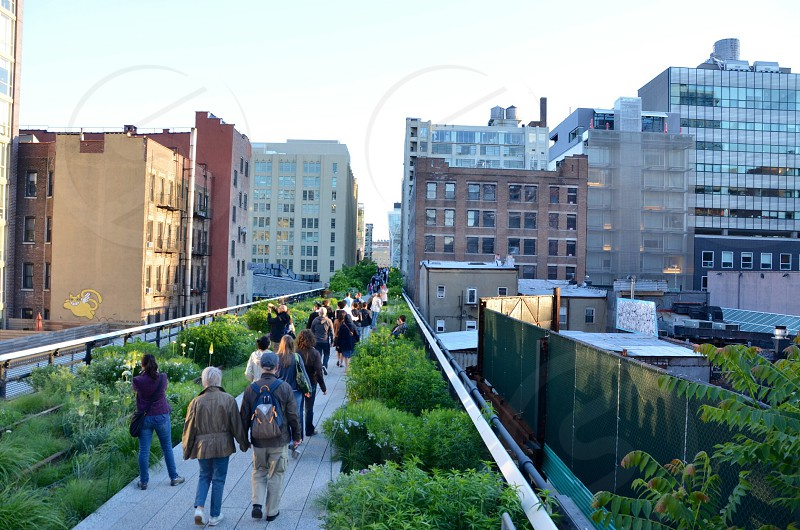 High Line. Meatpack District. NYC. photo