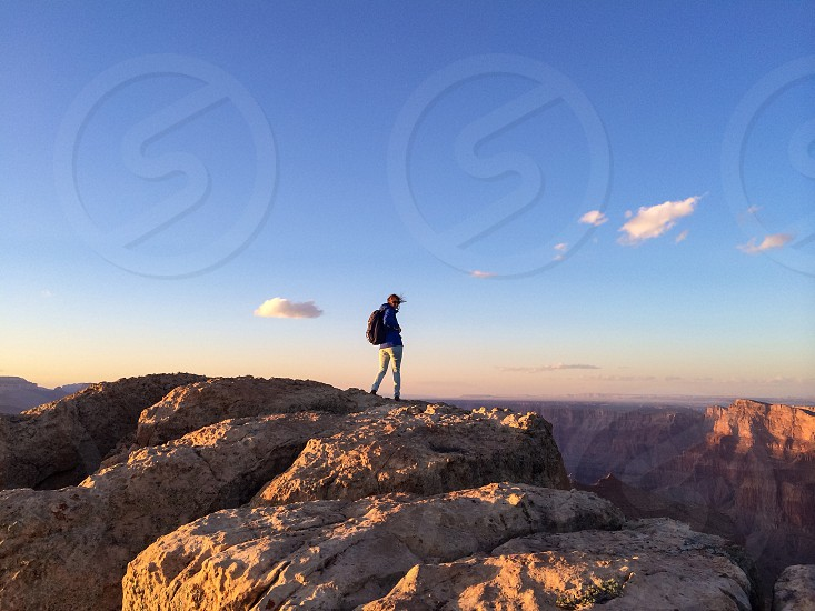 Grand Canyon Nationalpark USA hiker photo