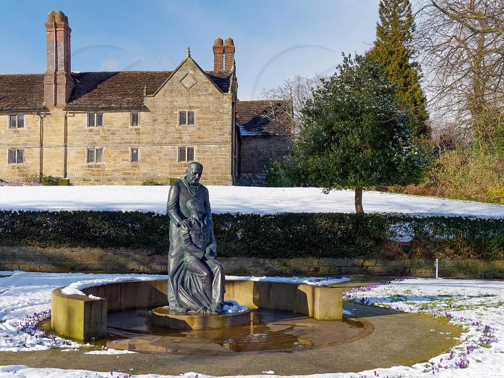 EAST GRINSTEAD WEST SUSSEX/UK - FEBRUARY 27 : McIndoe Memorial in East Grinstead on February 27 2018 photo