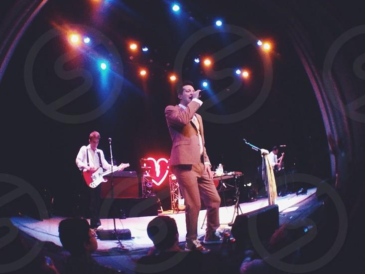 Mayer Hawthorne Concert. Charlottesville Va 2013.  photo