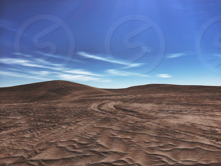 brown desert photo
