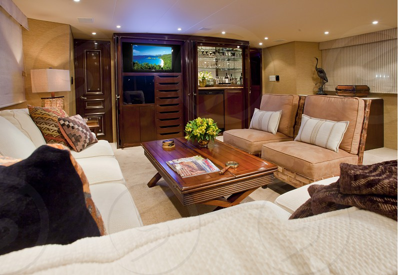 Interior of one of my yacht shoots.  photo