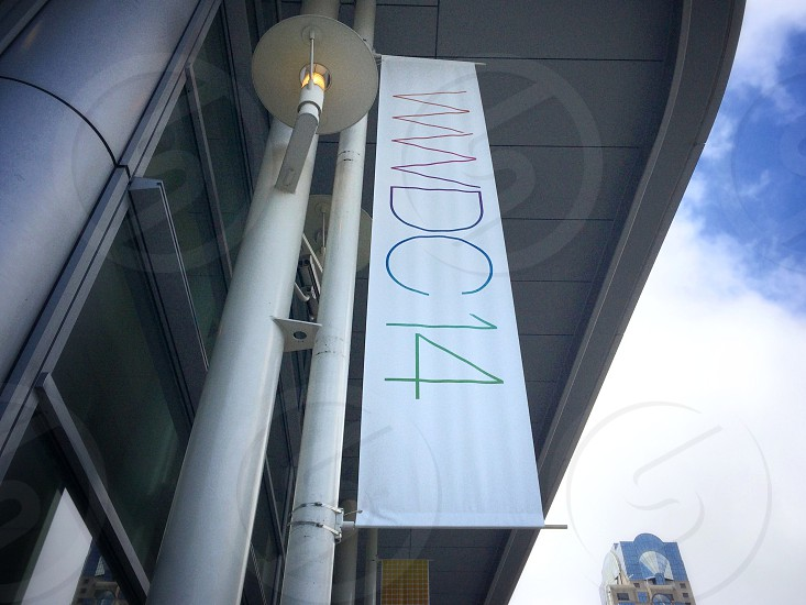 WWDC 14 banner outside of Moscone West photo