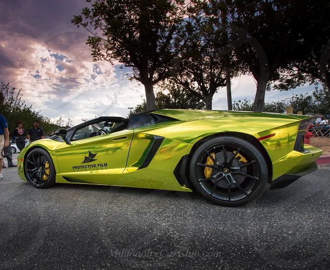 One of a kind Lamborghini Aventador  photo