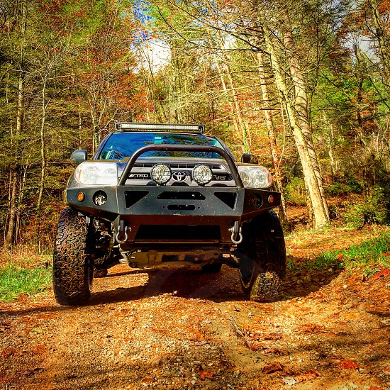 Outdoor 4x4 mountains tn offroad 4Runner Toyota landscape beautiful trails Tennessee lifted trees  photo