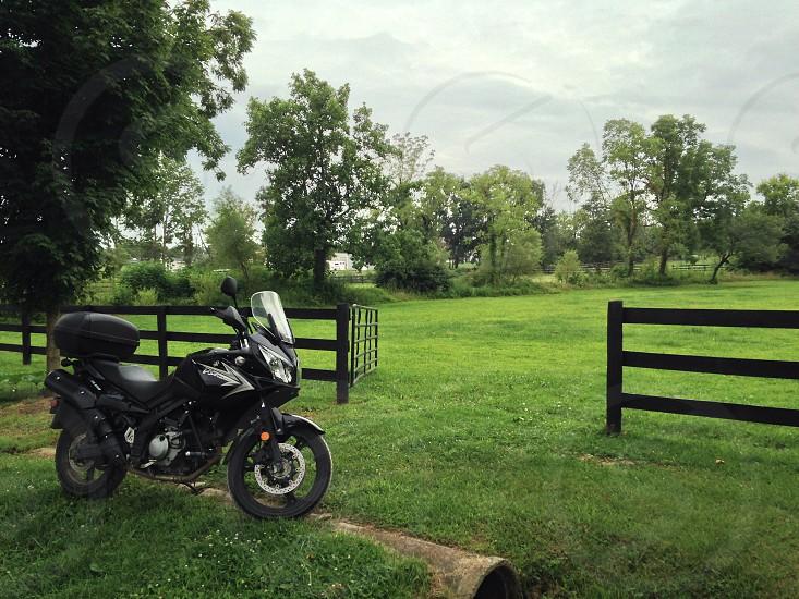 Suzuki VStrom motorcycle  photo