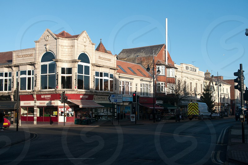 Whitley Bay town centre photo