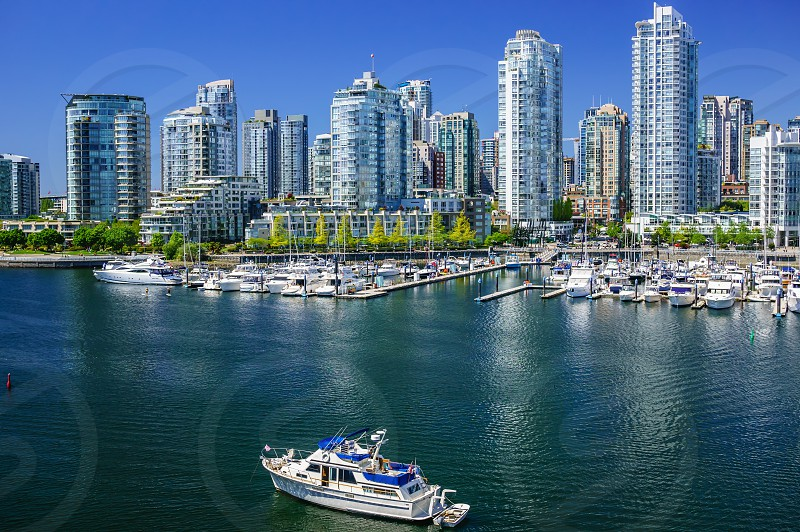 Yaletown Downtown Vancouver Canada. photo