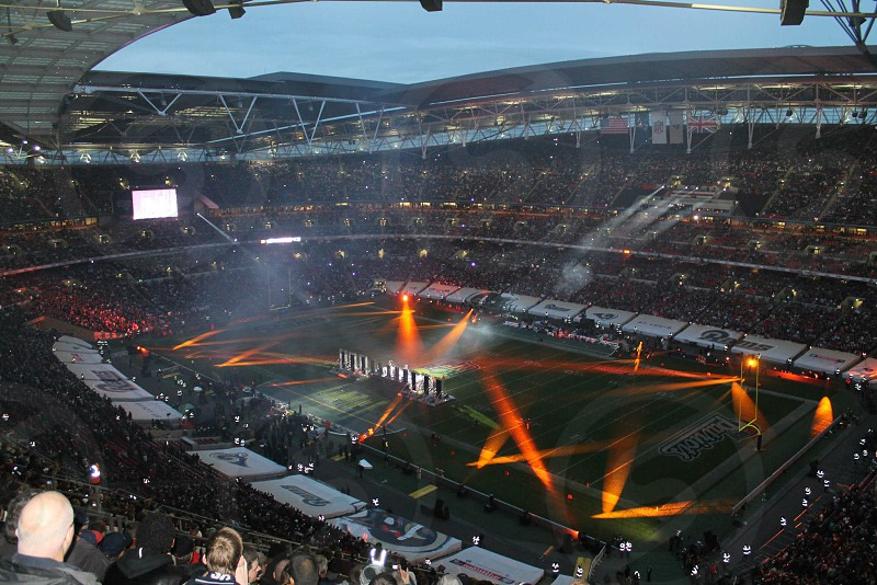 NFL comes to the UK's Wembley Stadium photo