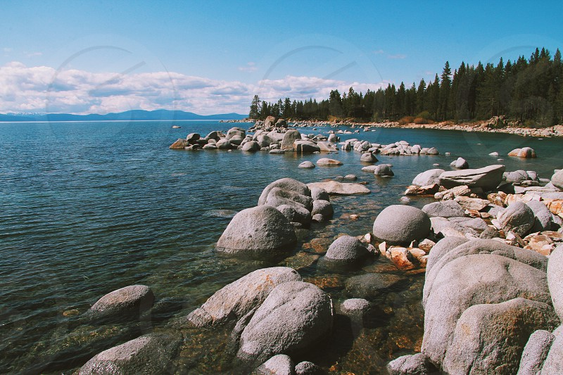 Lake Tahoe sunny photo