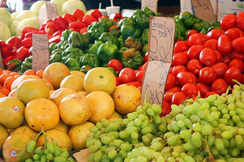 Produce farm market photo