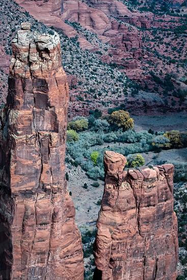 Spider Rock in  Canyon de Chelly photo
