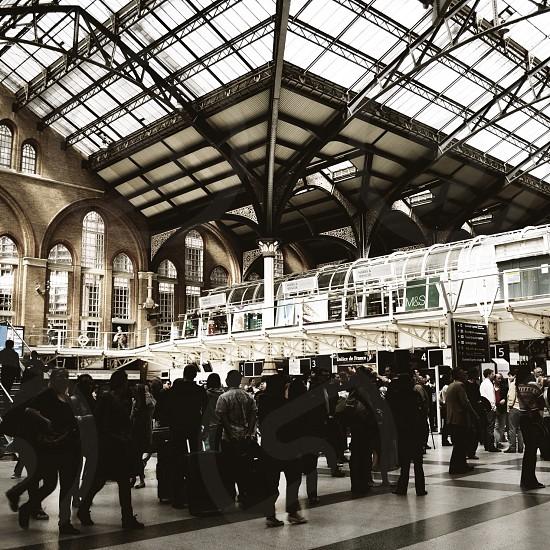 Liverpool Tube Station London photo
