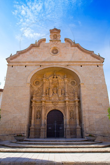 Calamocha Teruel church in Aragon at Spain photo