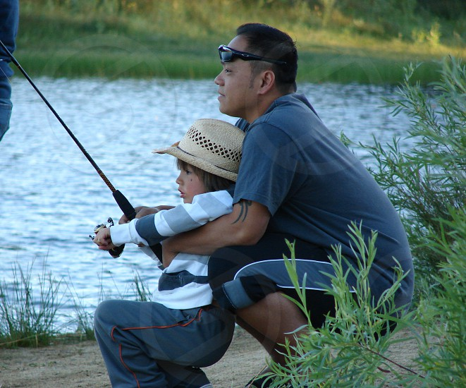 learning to fish photo