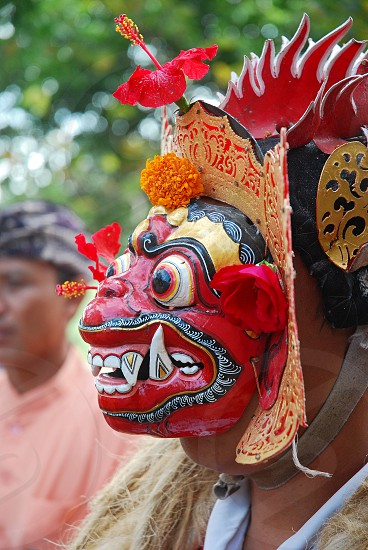 Pesta Kesenian Bali - Bali Art Festival is an event that held every mid year for promoting travel destination at Puputan field -public area centre. photo